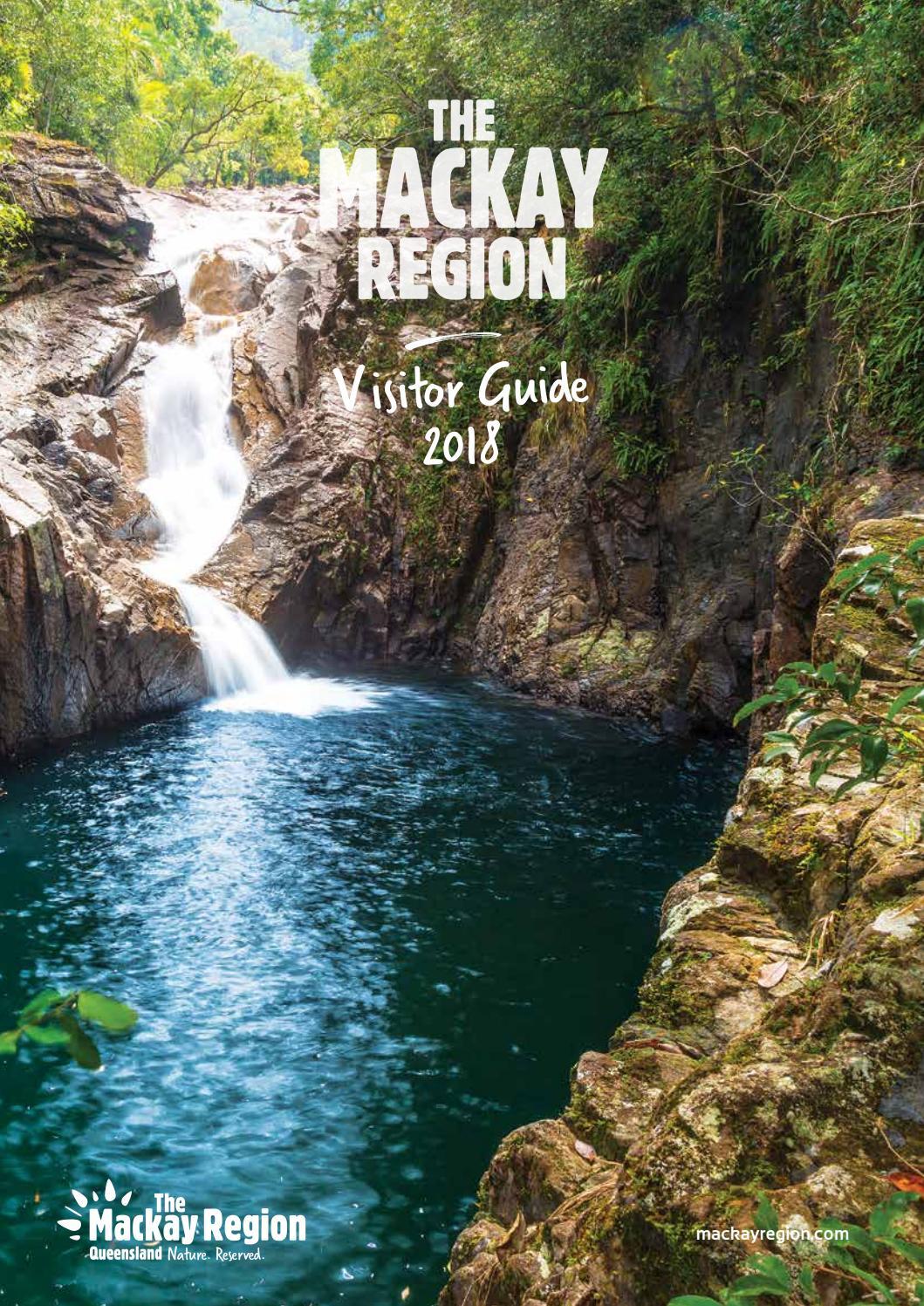 Mackay Region Visitor Guide 2018 by Vink Publishing - issuu