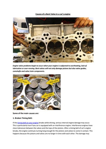 Partsavatar Auto Parts, Toronto - What are the causes of a