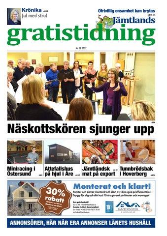 Jämtlands Gratistidning nr 12 2017 by Jämtlands Tidningar - issuu b49fc2fa0a0c7