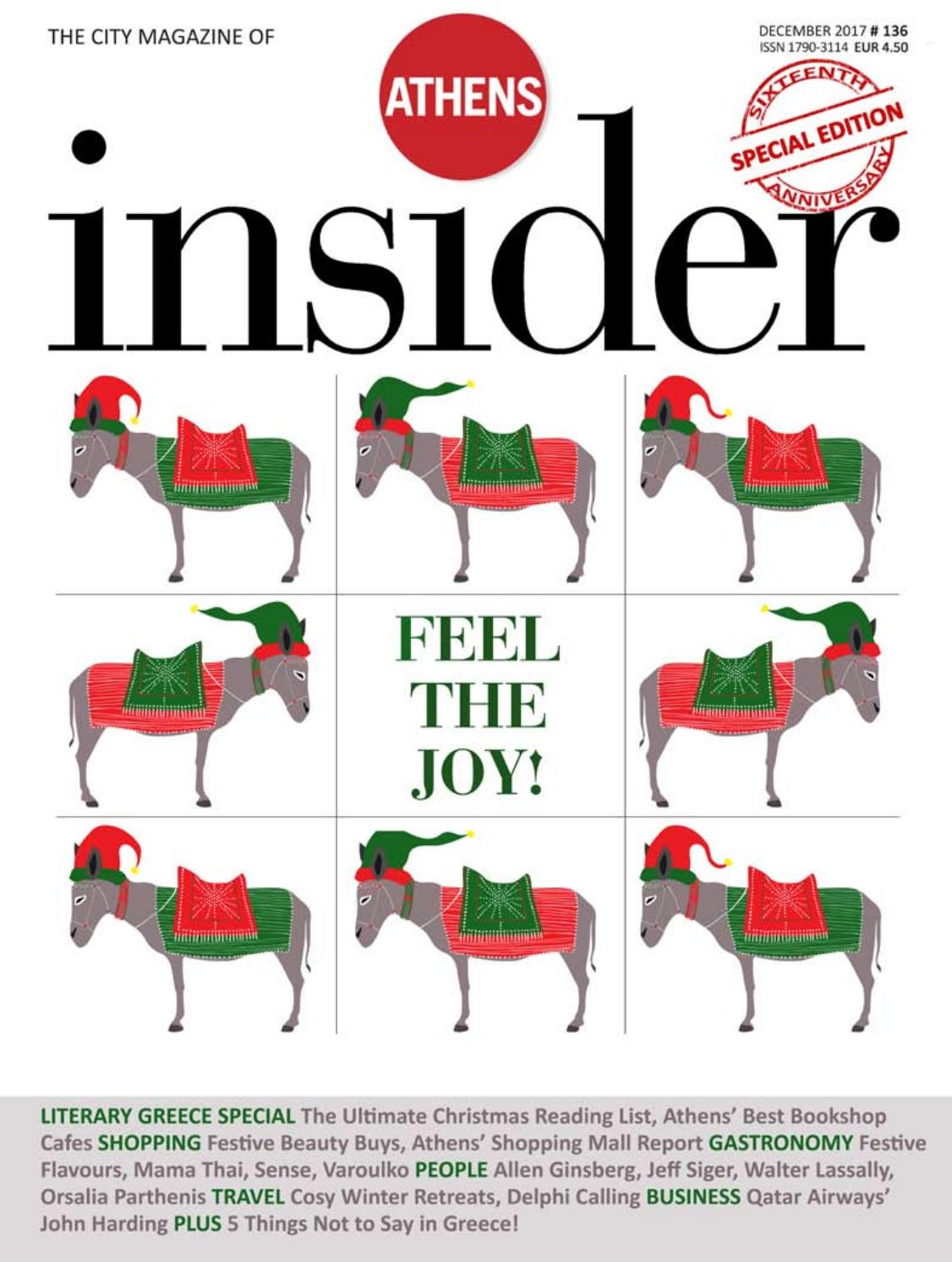 Athens insider 136 december 2017 by Insider Publications - issuu 710391f9c23