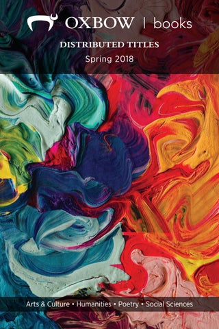 Oxbow Books Humanities Books Spring 2018 By Casemate Publishers