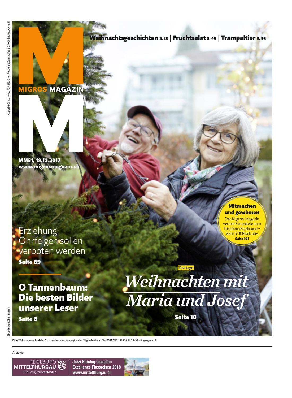 Migros magazin 51 2017 d os by Migros-Genossenschafts-Bund - issuu