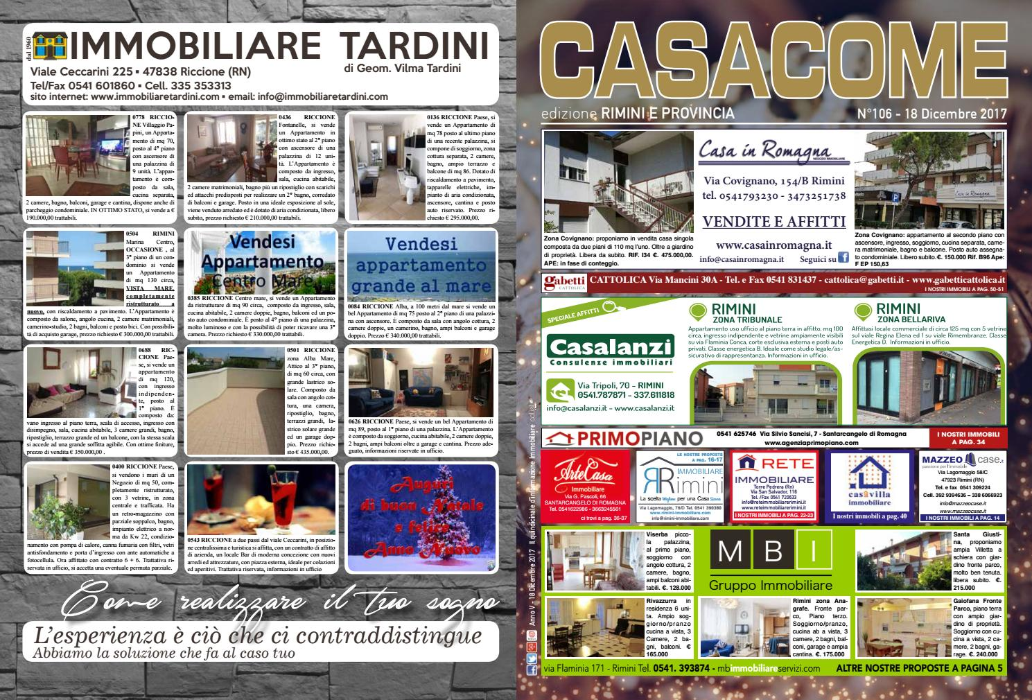 Casacome ed. Rimini - n°106 by Caliel Edizioni - issuu