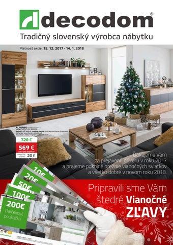 37991286644bf Akciový leták Decodom by Decodom - Slovenský výrobca nábytku - issuu