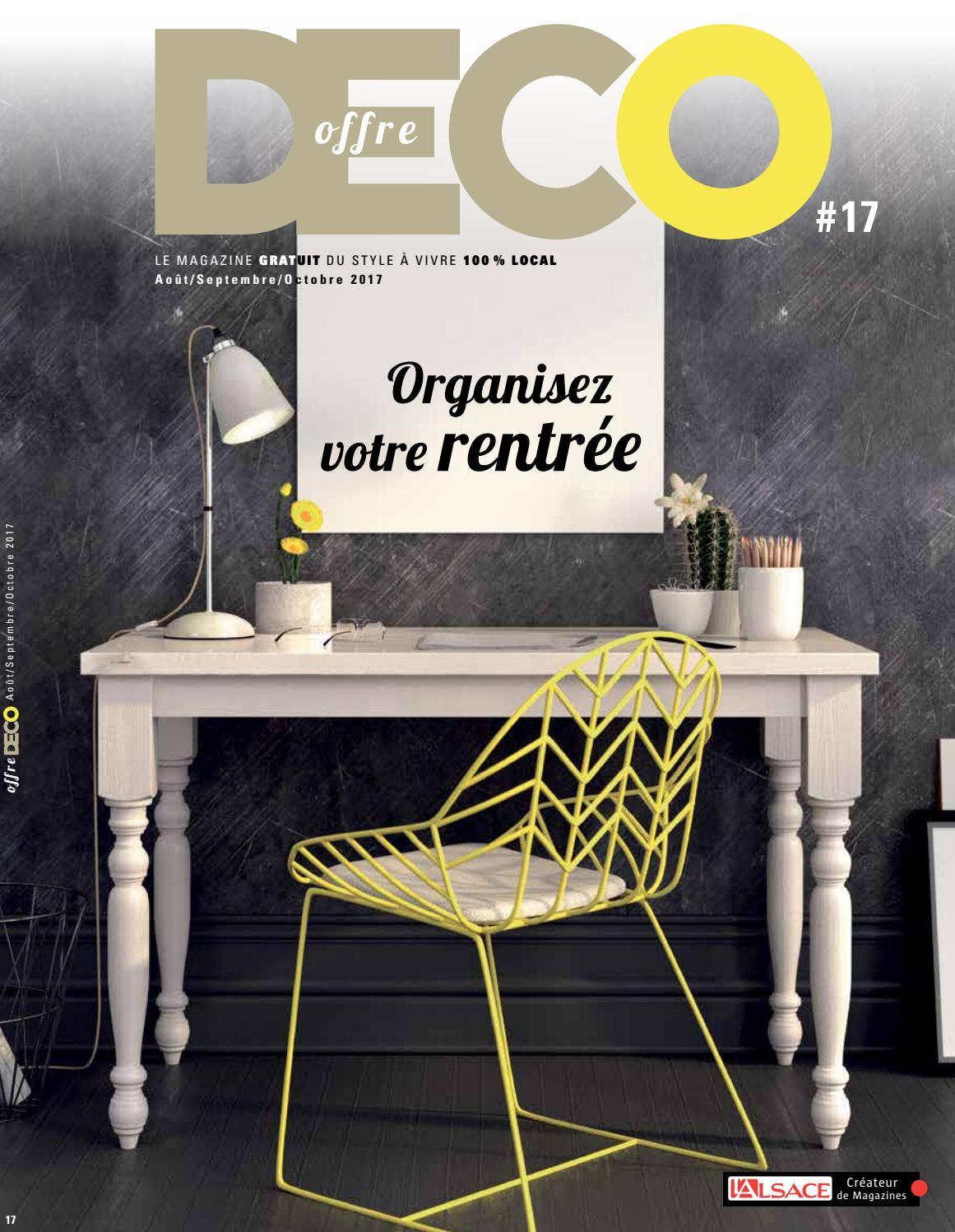 Offre déco N°17 by julie rosenblatt - issuu 061caf6655c