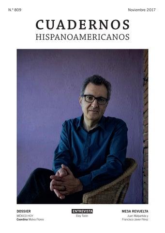 Cuadernos Hispanoamericanos Nmero 809 Noviembre 2017 By Aecid