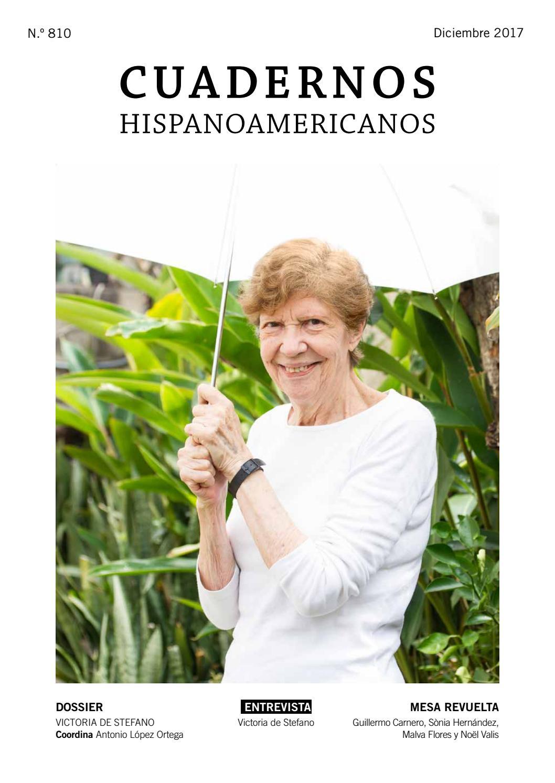 Cuadernos Hispanoamericanos Número 810 Diciembre 2017 By