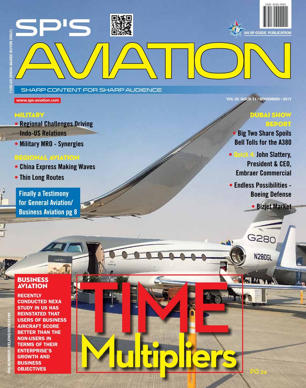 SP S Aviation November 2017 By SP Guide Publications Pvt Ltd