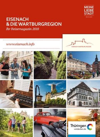 Merveilleux Reisemagazin 2018 Für Eisenach Und Die Wartburgregion By Eisenach ...