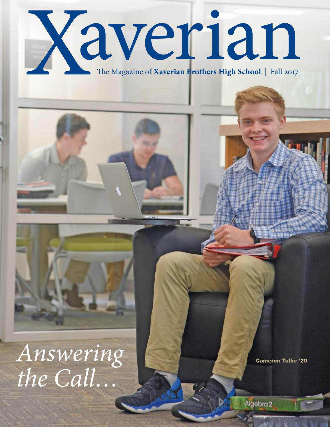 2017 Fall Magazine & Honor Roll of Donors by Xaverian Brothers High School  - issuu