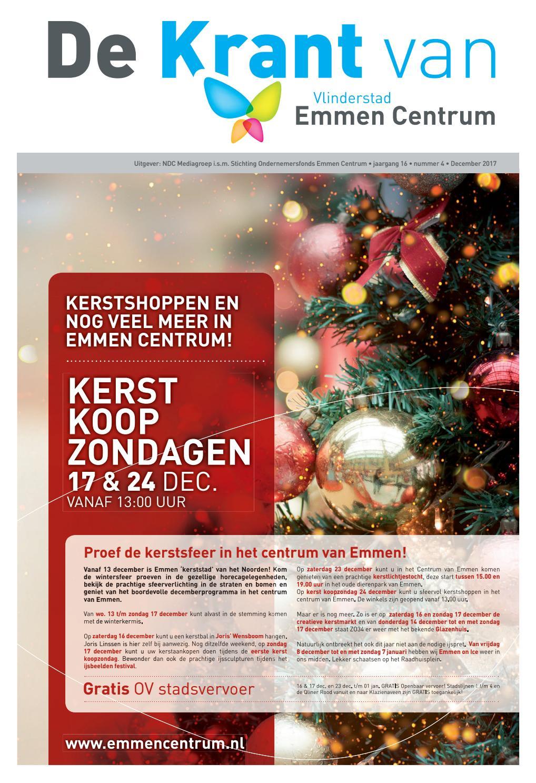 Ndc Mediagroep Centrumkrant December 2017 By Ndc Mediagroep Issuu
