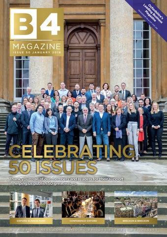 B4 issue 50 by B4 Magazine - issuu