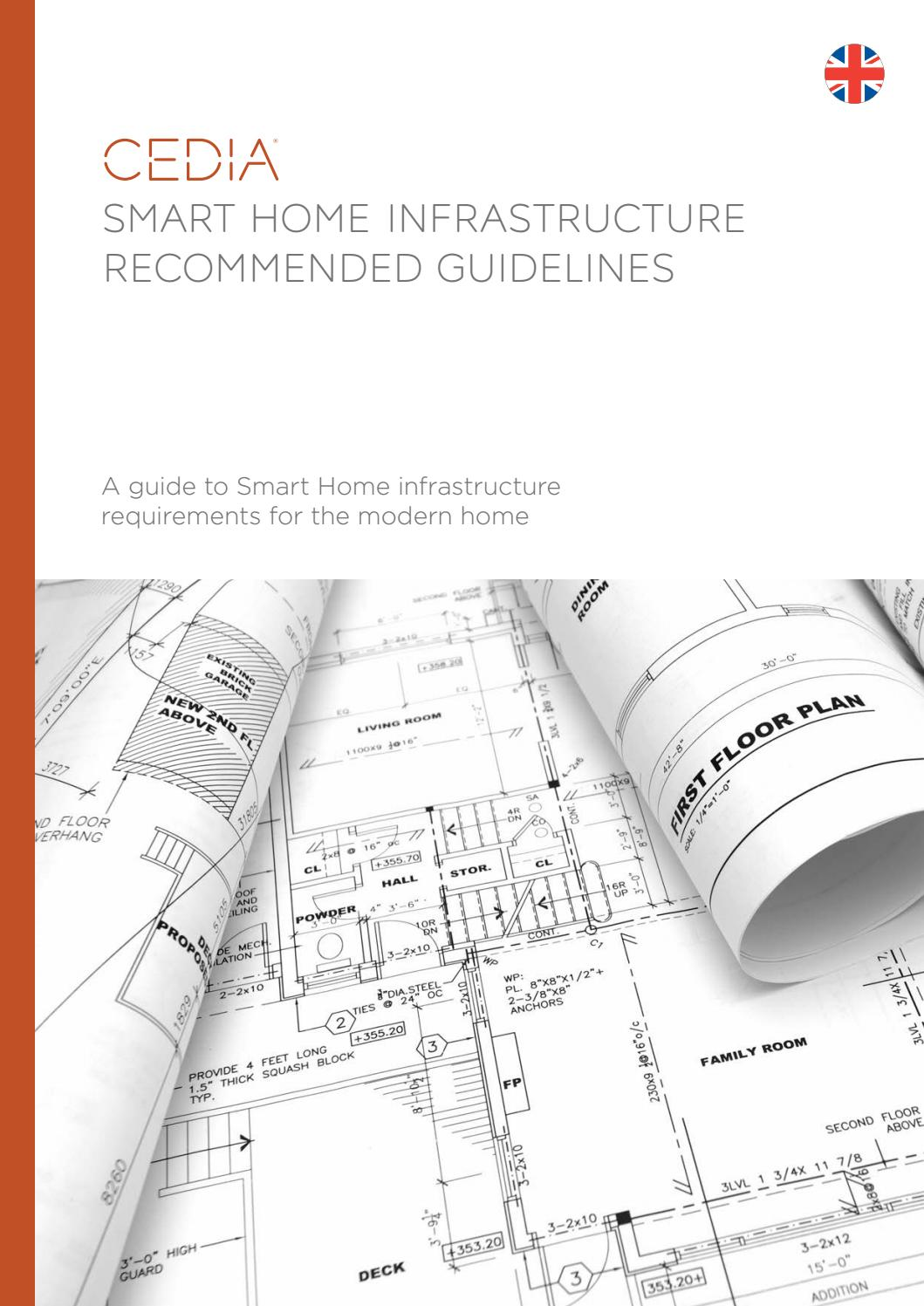 smart home recommended wiring guidelines by cedia emea issuu