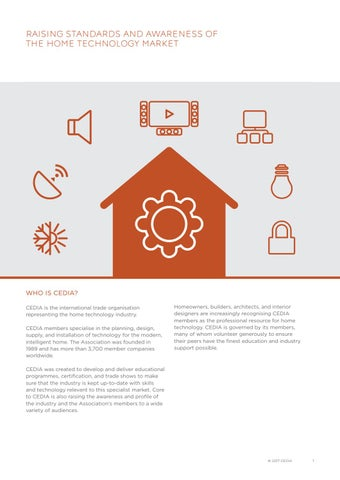 smart home recommended wiring guidelines by cedia emea issuusmart home recommended wiring guidelines