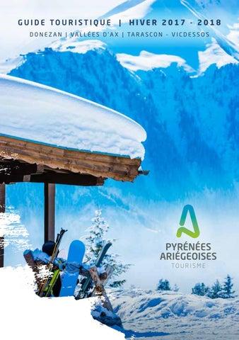 Activits Hiver Des Pyrnes Arigeoises 2018 By Office De Tourisme
