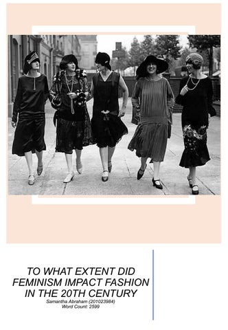 fb2b5bf6550 To what extent did feminism impact 20th century fashion by ...