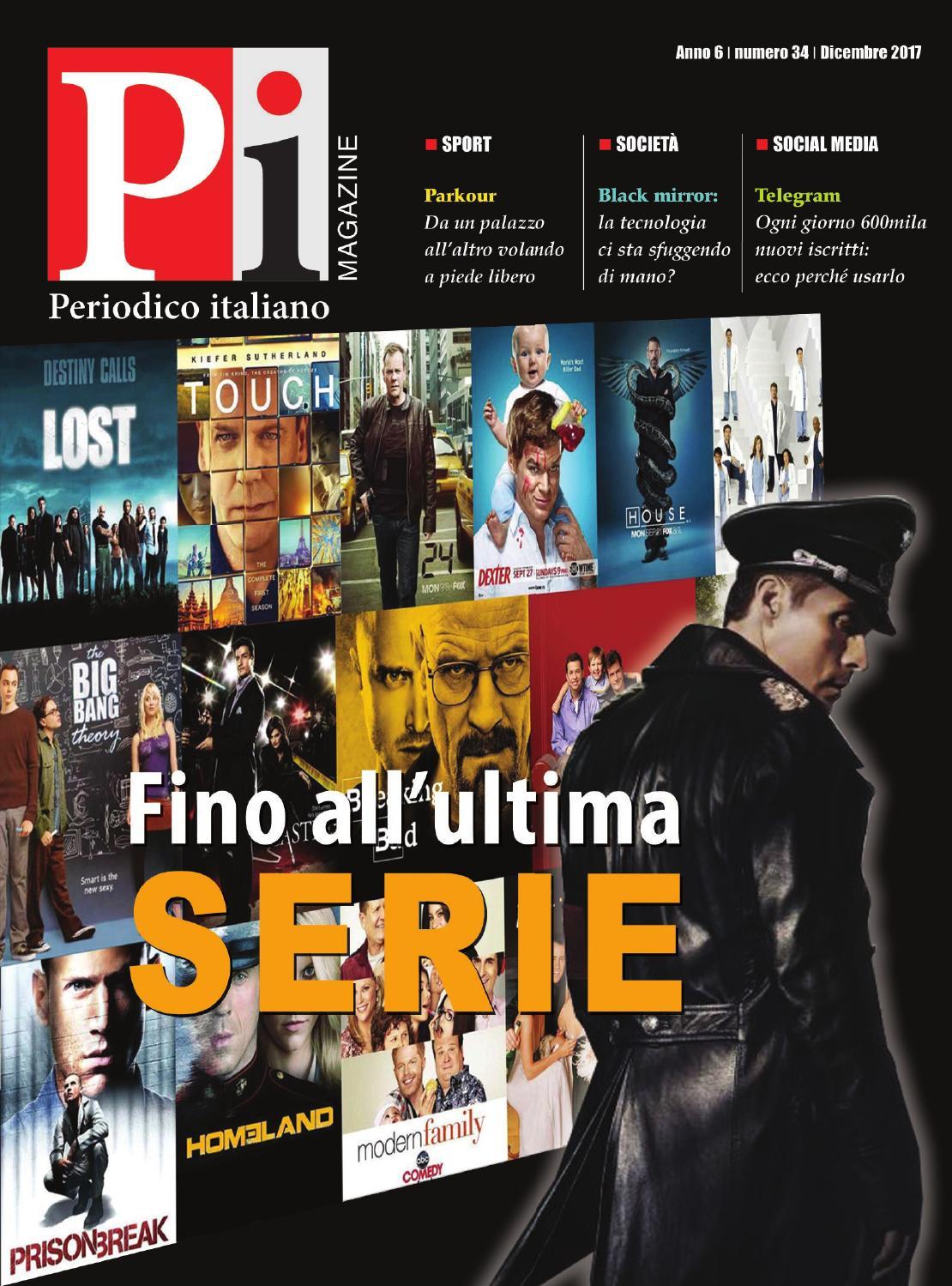 Periodico italiano magazine dicembre 2017