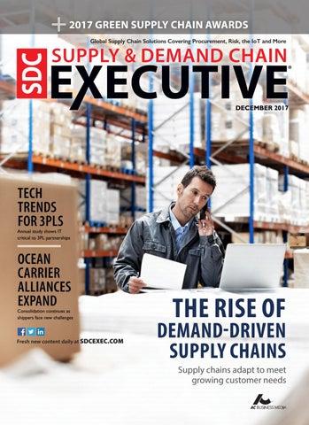 df1d8622b64 Supply   Demand Chain Executive December 2017 by Supply+Demand Chain ...