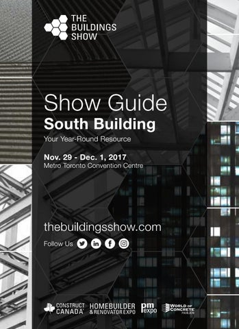 Show Guide South Building Your Year-Round Resource