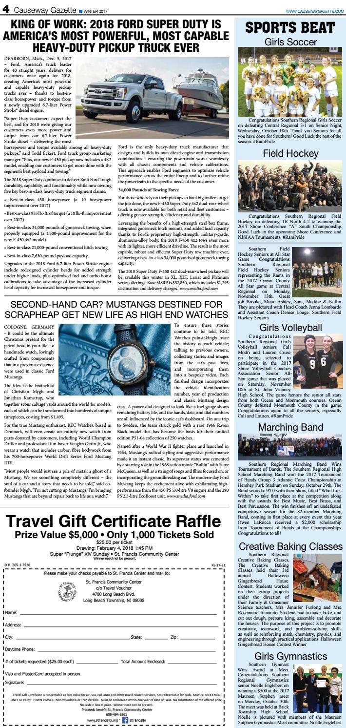 Causeway Gazette Issue #44 December 2017 by The Causeway