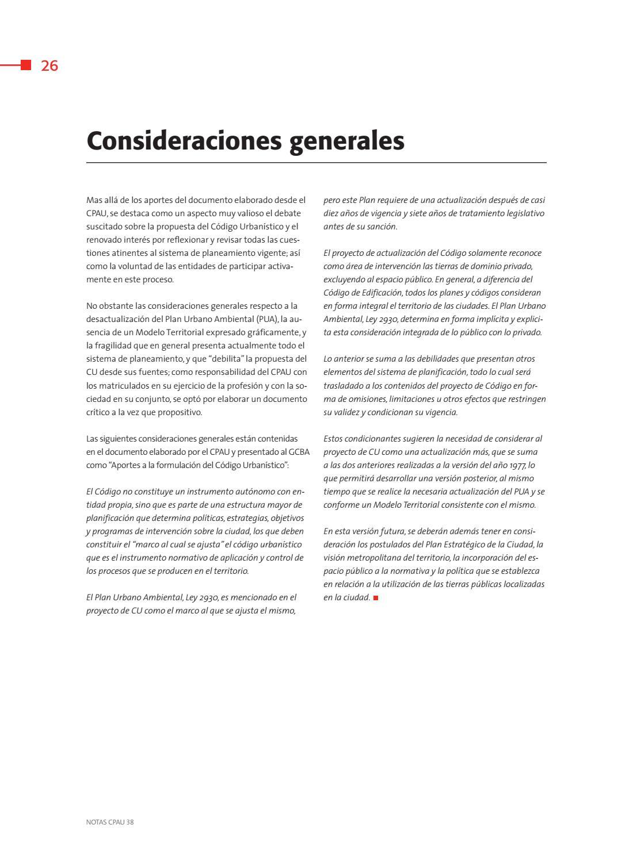Revista Notas #38 - Código Urbanístico by Revista Notas | CPAU - issuu