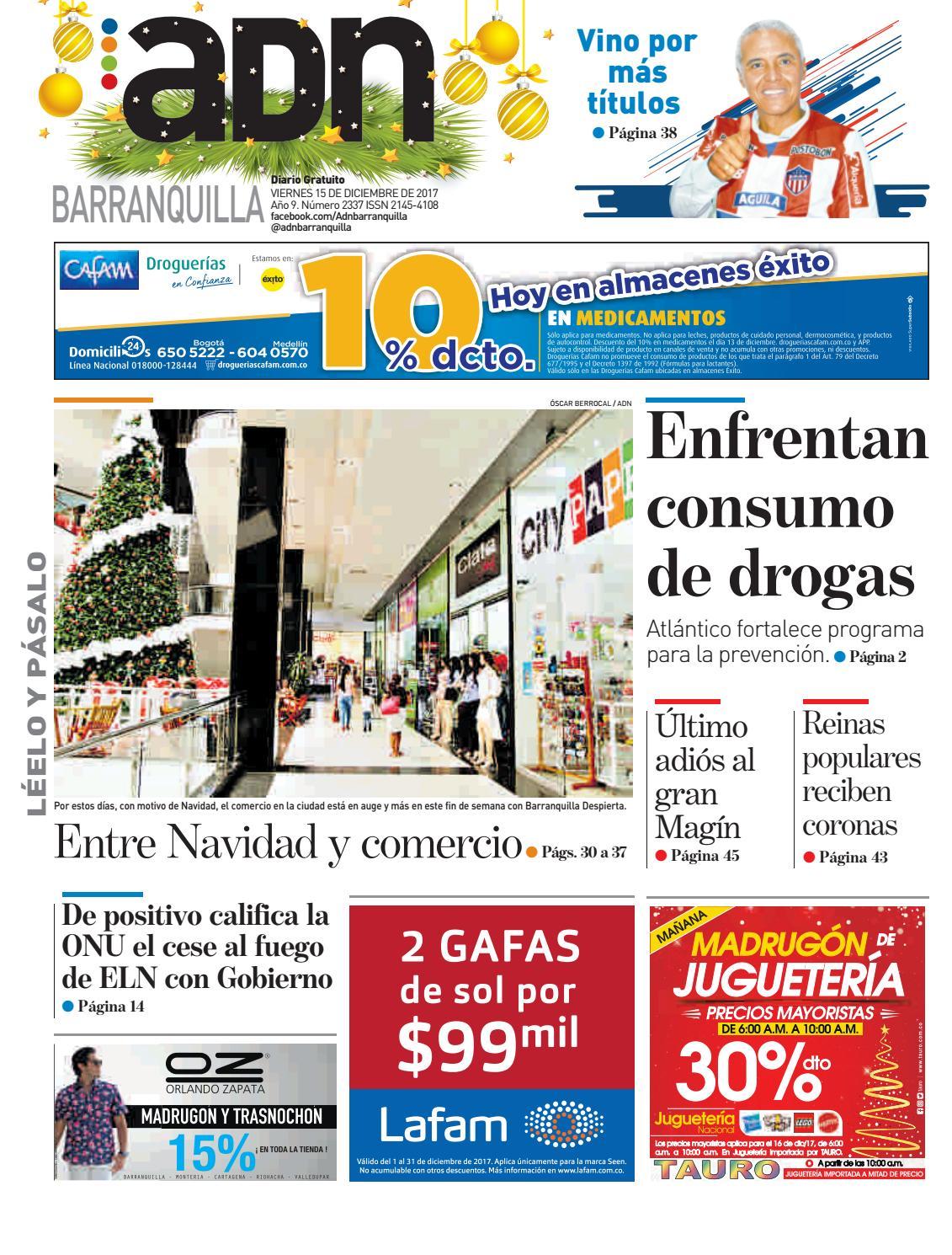 ADN Barranquilla 15 de diciembre de 2017 by diarioadn.co - issuu 6371753daa0