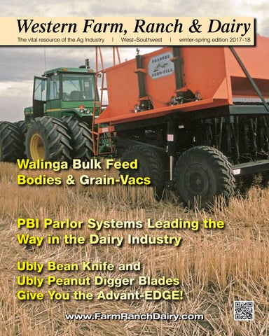 Western Farm, Ranch and Dairy Magazine – Winter-Spring 2017-18 by