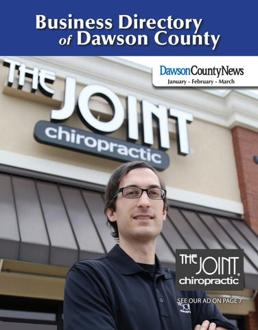 Business Directory Of Dawson County January February March