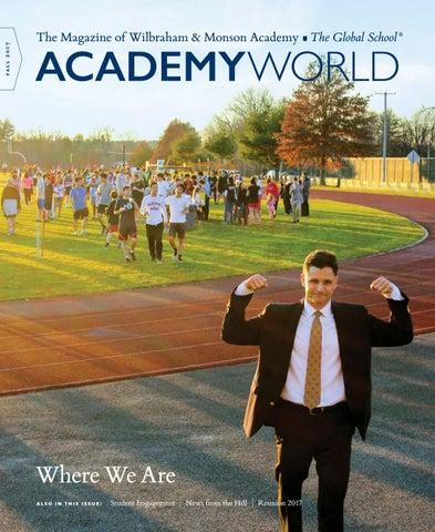 b1349968f8969 Academy World Fall 2017 by Wilbraham   Monson Academy - issuu