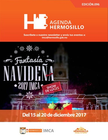 "Cover of ""Agenda Hermosillo 15 dic 2017"""