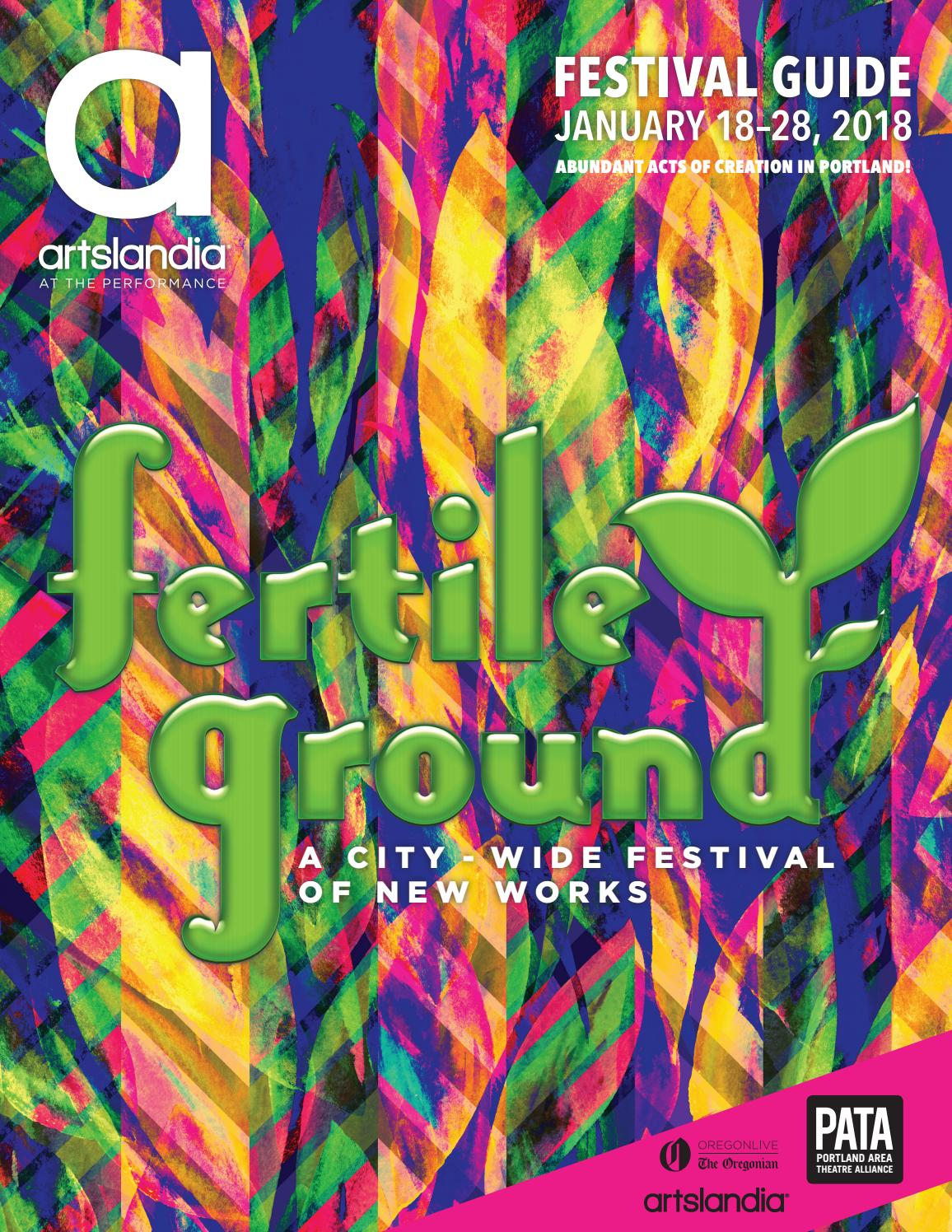 dcf1df62558 2018 Fertile Ground Festival Guide by Artslandia - issuu