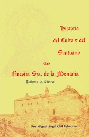 1709952fc1fc Historia del Culto y del Santuario de Nuestra Sra. de la Montaña por ...