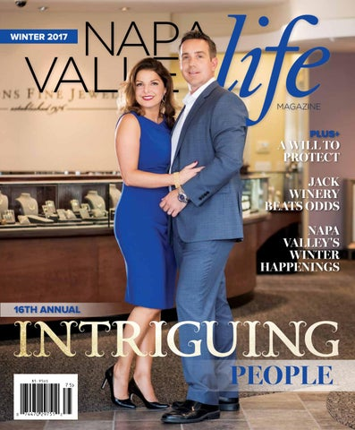 285885eb696 Napa Valley Life - Winter 2017 - Intriguing People by WEB Media ...
