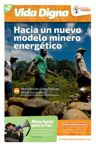 Vida Digna N° 2 Hacia un nuevo modelo minero energético