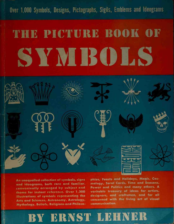 The Picture Book Of Symbols Lehner Ernst 1895 By Manuel Fernandez
