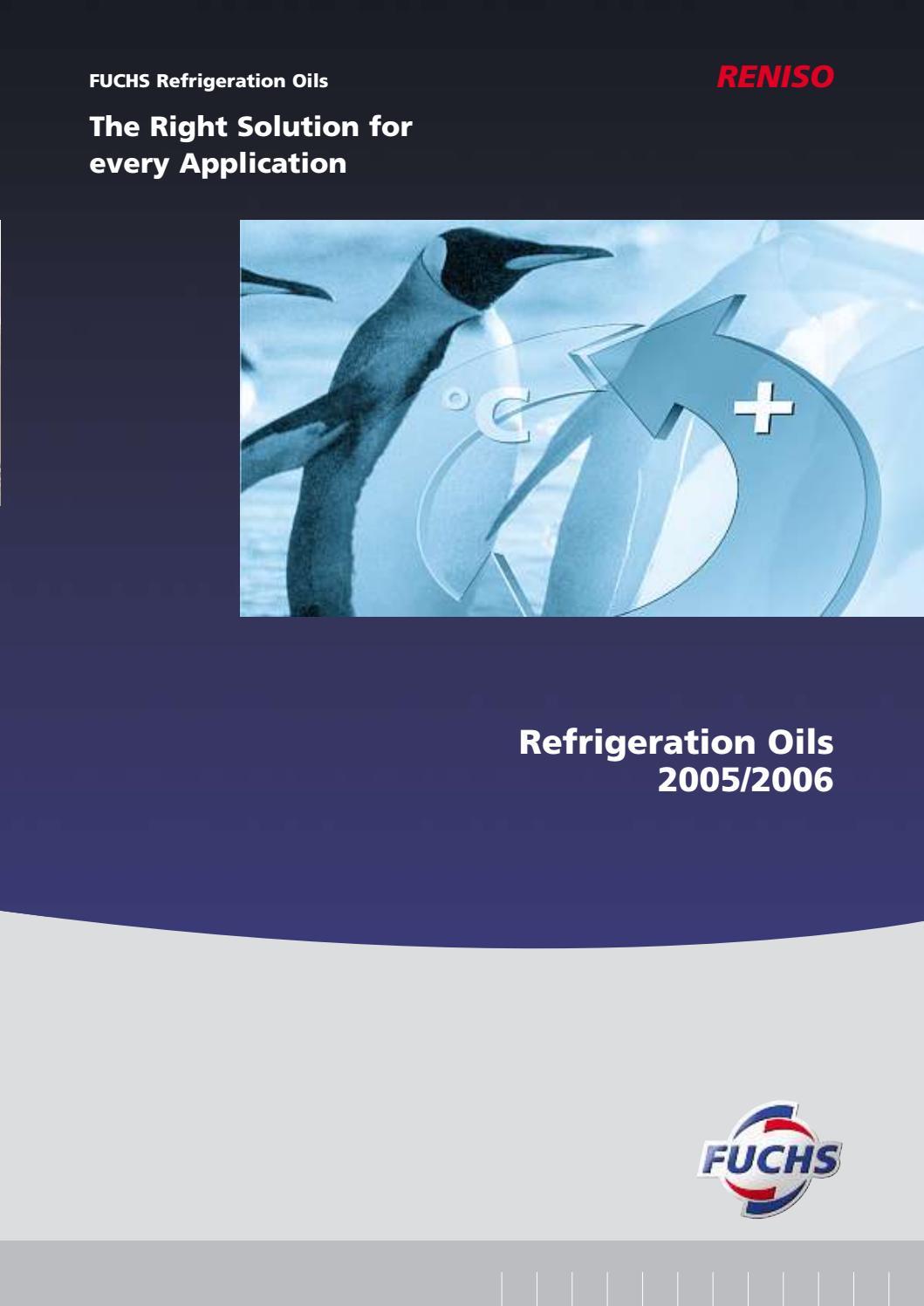 Fuchs Refrigeration oil - Ghanim Trading LLC  Dubai -UAE by