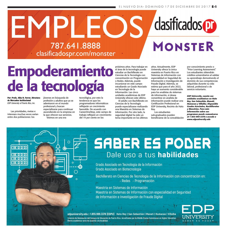 Empleos 01 15 2017 by ClasificadosPR.com - issuu