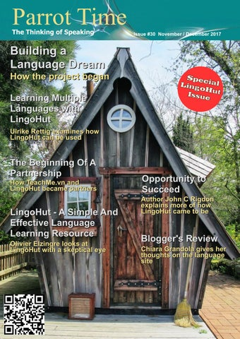 Parrot Time - Issue 15 - May / June 2015 by Erik Zidowecki
