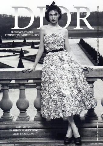 4dfcbe05250 Dior Report by Martina Monsport - issuu
