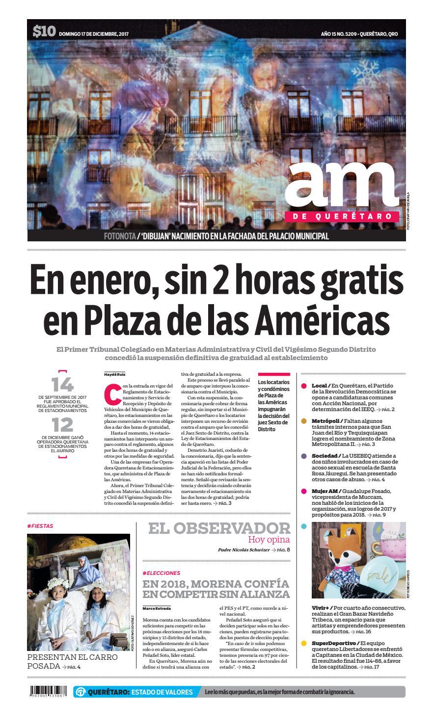 17 i 12 i 2017 by Periódico AM Queretaro - issuu