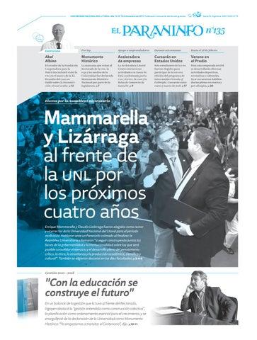 El Paraninfo | 135 by Universidad Nacional del Litoral - issuu