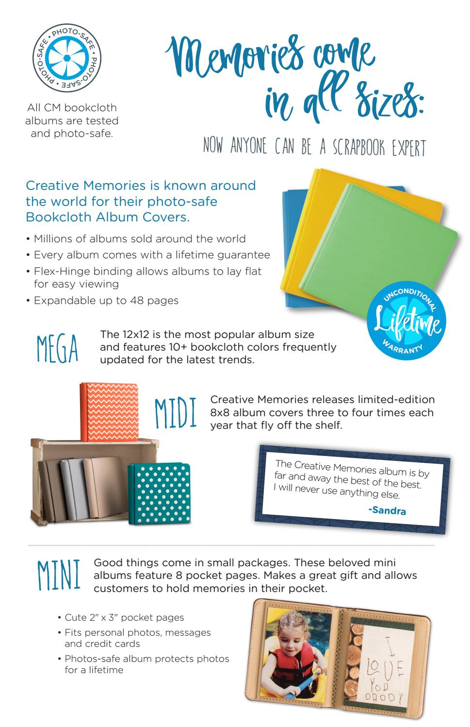 Creative Memories is Back and Better than Ever! by Creative