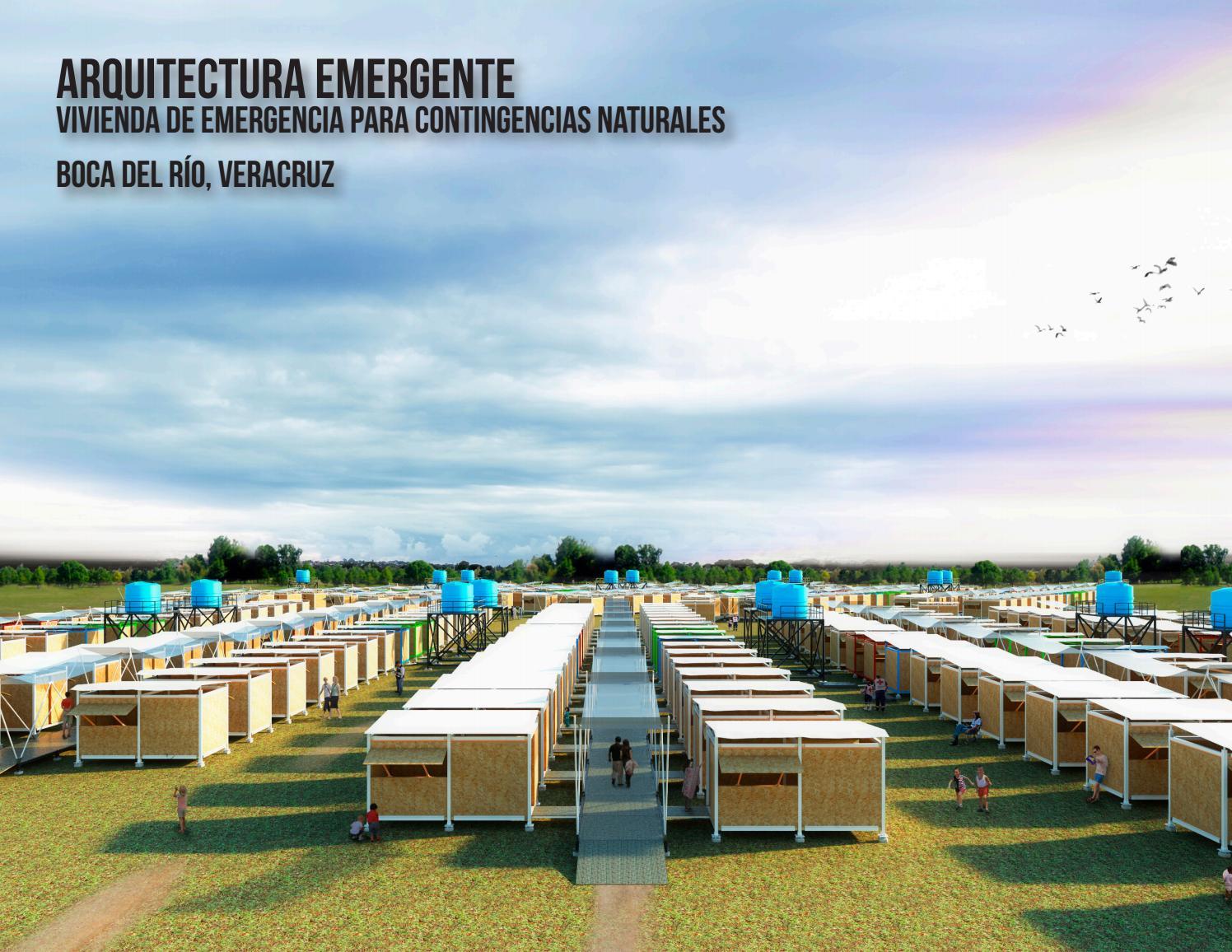 Arquitectura emergente vivienda de emergencia para for Vivienda arquitectura