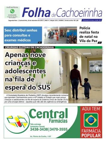 Segunda-feira   Cachoeirinha, 18 de dezembro de 2017 - ANO V ... 38ed231ac7
