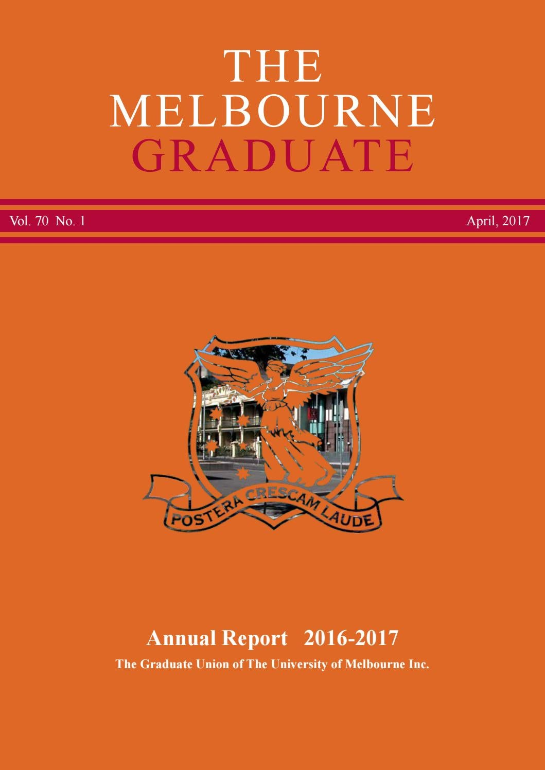 286971da528 The Melbourne Graduate April 2017 (2016 Annual Report) by Graduate ...