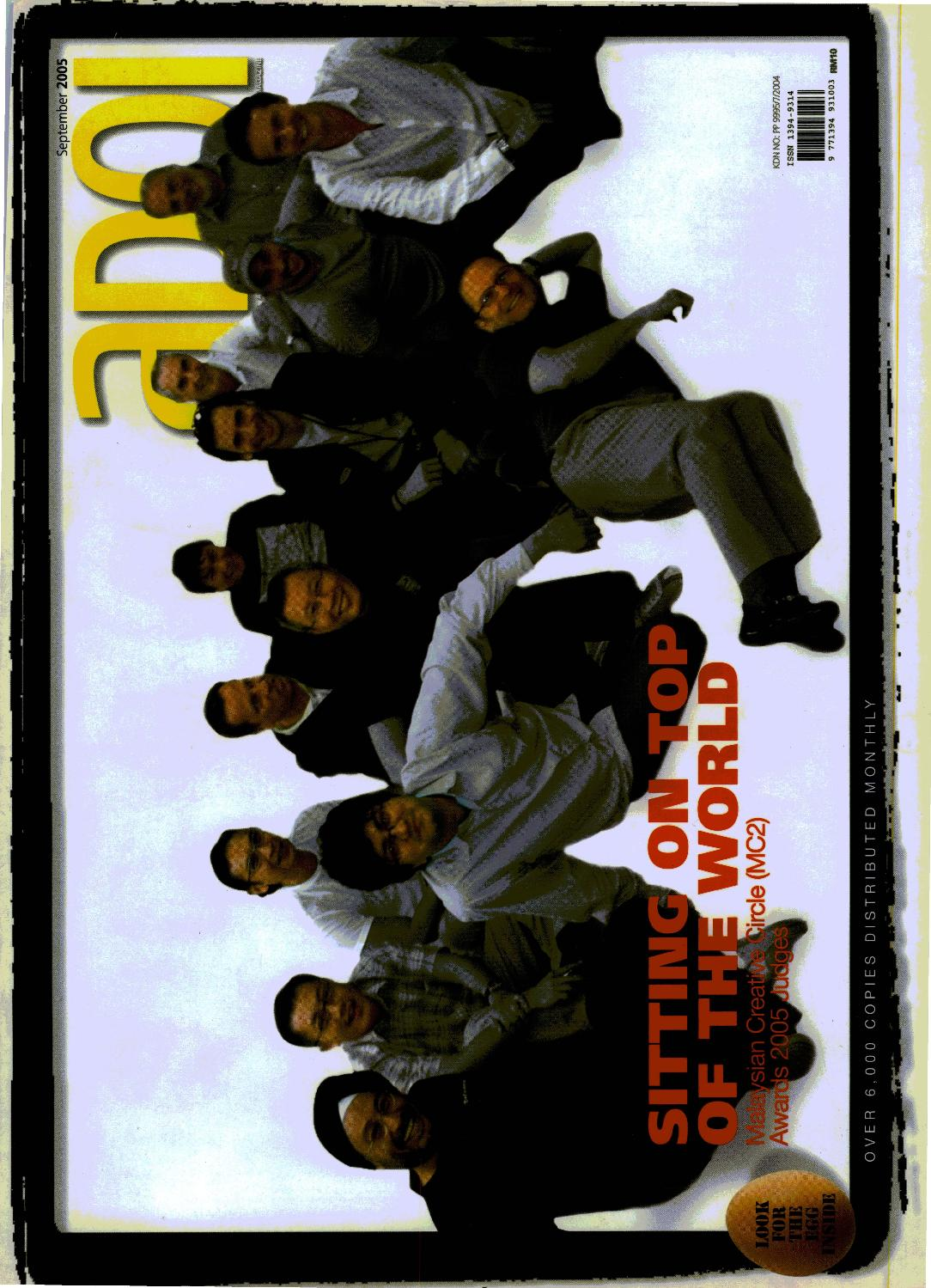 Adoi Malaysia 2005 September Issue by Sledgehammer