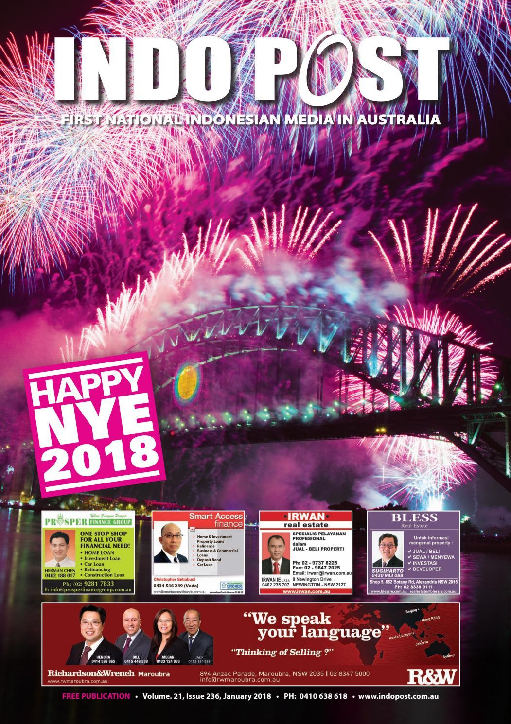 Indopost January 2018 By Indopost Issuu
