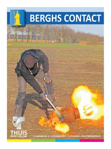 Berghs Contact 1712 Deel 1 19 12 2017 By Thuisinhetnieuws Issuu