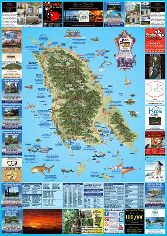 Koh Chang Treasure Map January 2018 by The Koh Chang Guide - issuu
