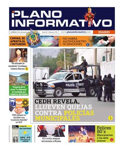 Plano Informativo Impreso Año 2 No. 735 by Plano Informativo - issuu